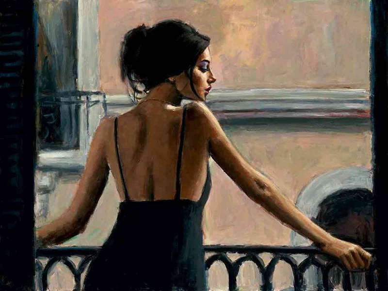 Image: ART00132217 (Balcony at Buenos Aires VI)